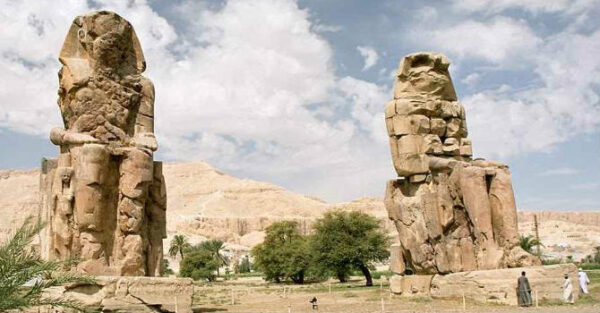 Valley of Kings Memnon colossi