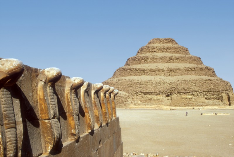 Day Tour Pyramids of Giza Memphis Sakkara