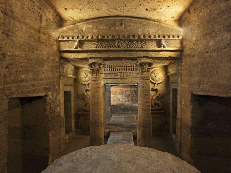 Alexandria Catacomb of Kom Al Shouqafa