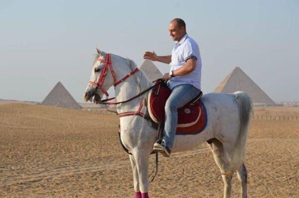 Horse ride Pyramids of Giza