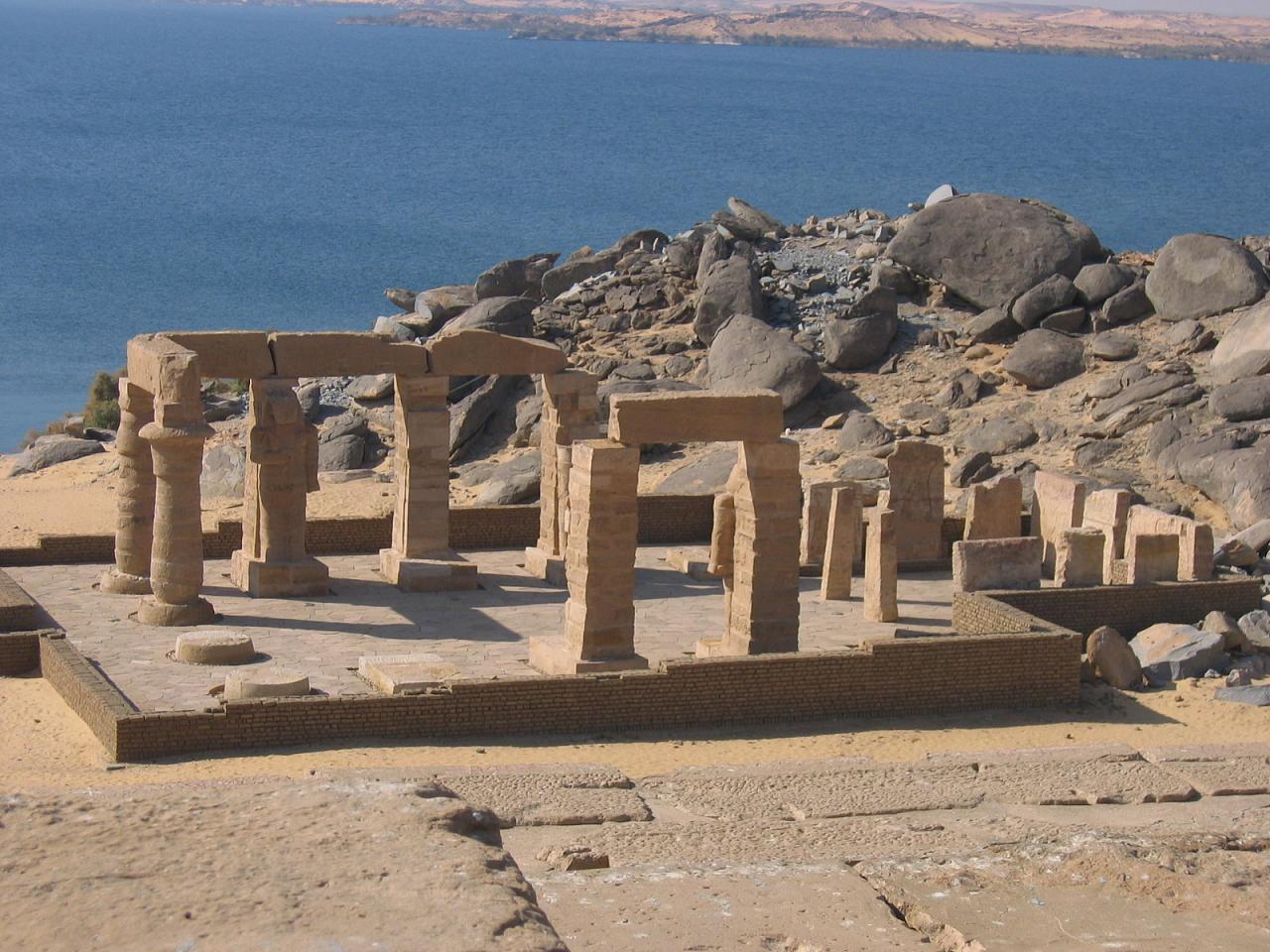 Kalabsha temple Nubian Museum tour