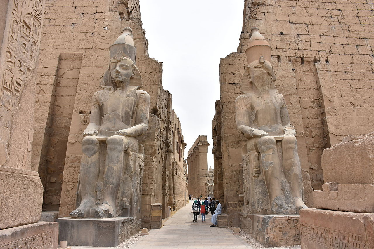 Luxor temple, Deluxe Tours Egypt, temple of luxor
