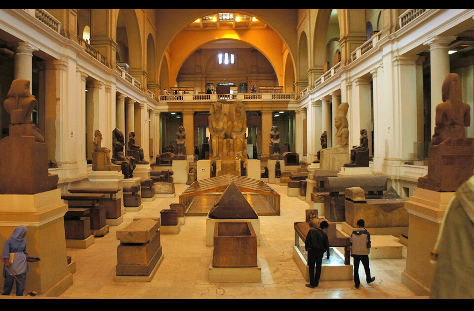 Egyptian museum guided tour