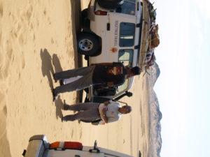 white desert Egypt, one night desert camping