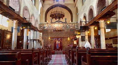 Church of St. Barbara Coptic Cairo, st barbara church