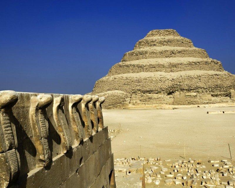 pyramids of Djoser, Sakkara