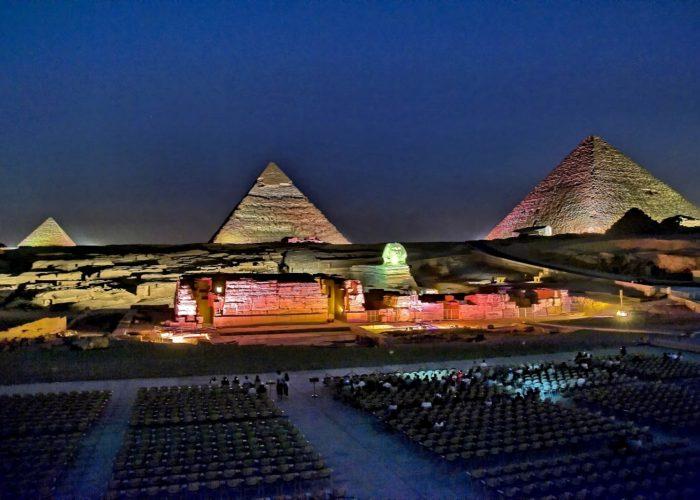 light and sound show pyramids of giza