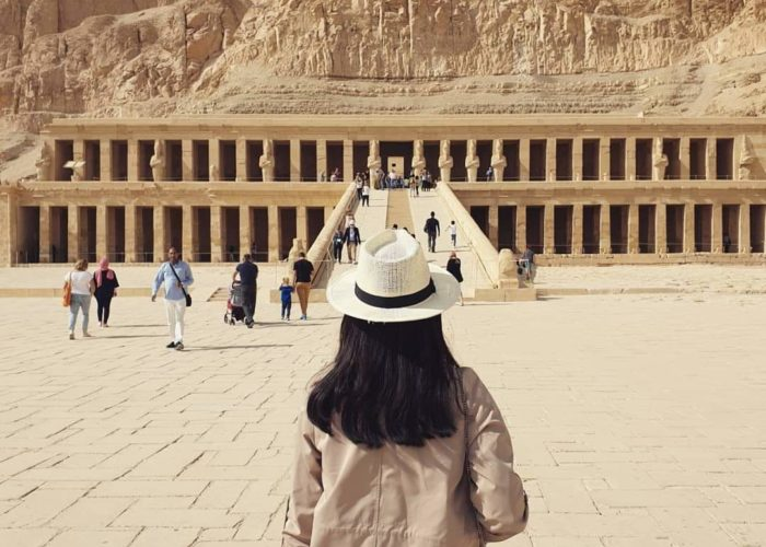 Luxor west bank tour, Hatshepsut temple, deluxe tours egypt