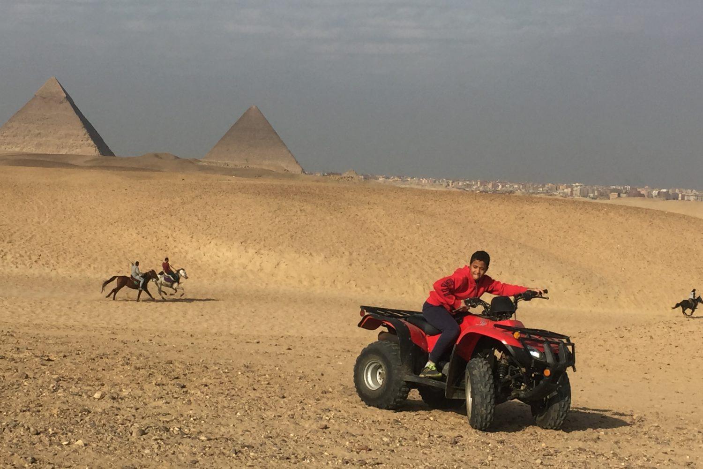 ATV ride Pyramids