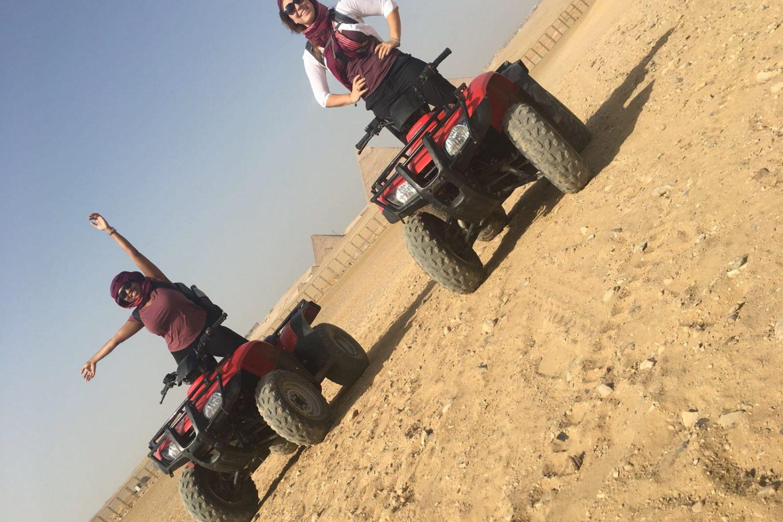 ATV ride Giza Pyramids, Cairo pyramids quad biking, quad bike ride Giza pyramids