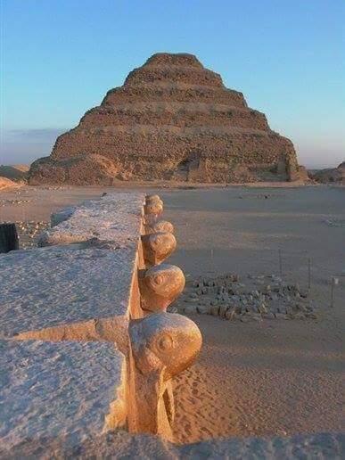 Pyramids of Zoser Sakkara, Deluxe Tours Egypt, Saqqara, step pyramid of Djoser, Zoser pyramid, king zoser