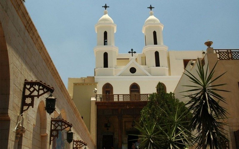 coptic cairo, hanging church, deluxe tours egypt