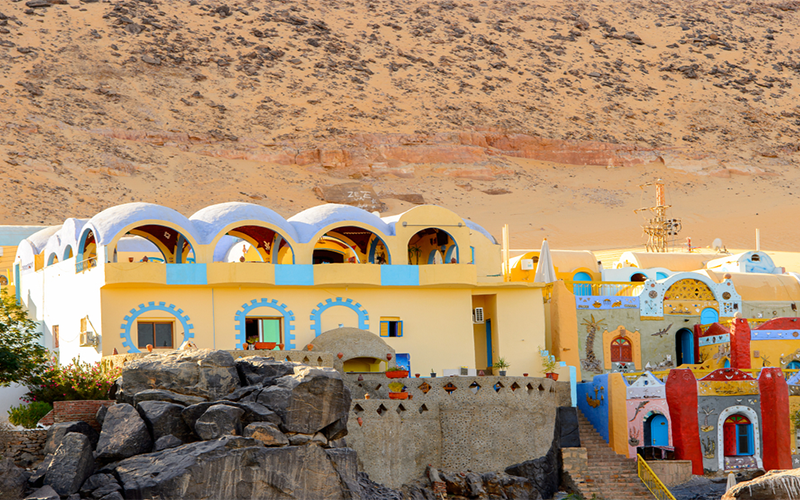 Nubian Village excursion , Deluxe Tours egypt