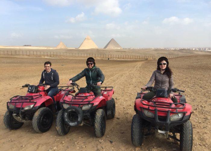 Deluxe Tours Egypt, Quad Bike pyramids, Atv and Quad bike tours pyramids