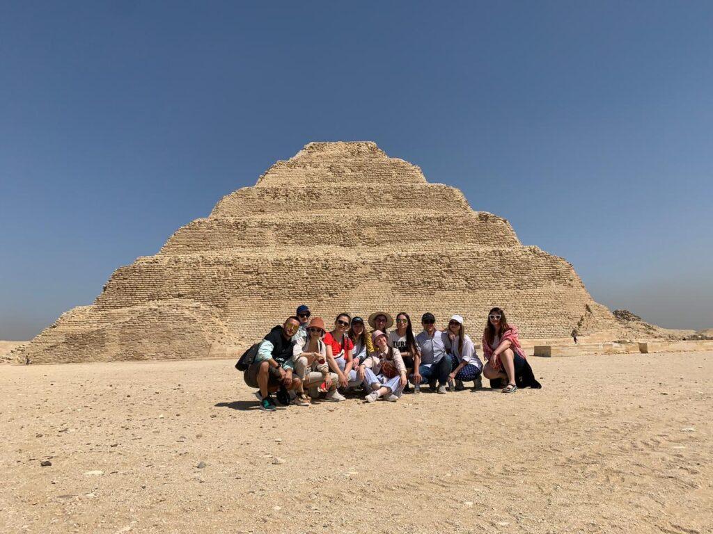 step pyramid, sakkara, saqqara, step pyramid of sakkara, djoser pyramid, pyramid of Djoser, Zoser pyramid, Deluxe Tours Egypt, Deluxe Travel