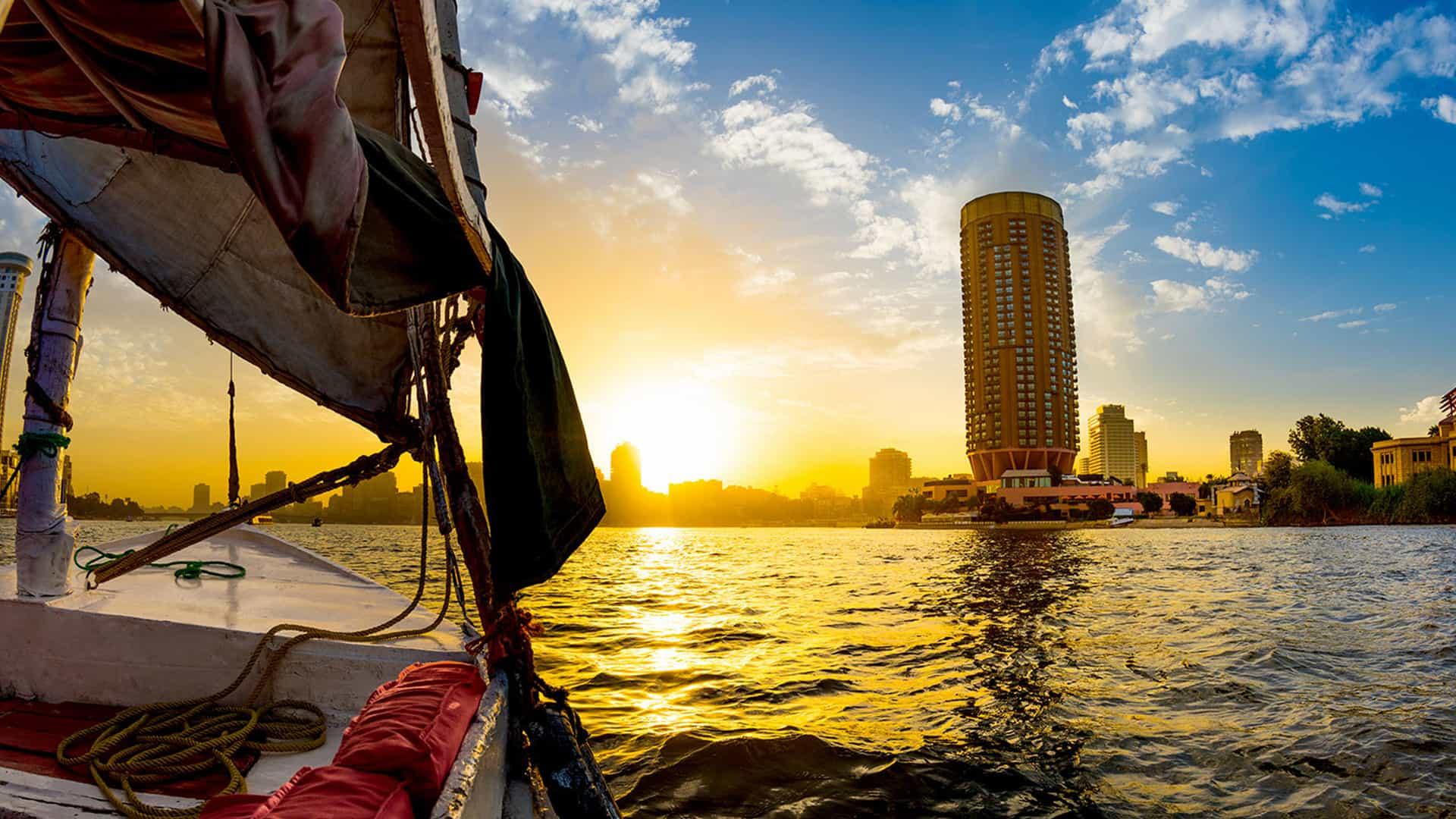 Nile Felucca Cairo Egypt