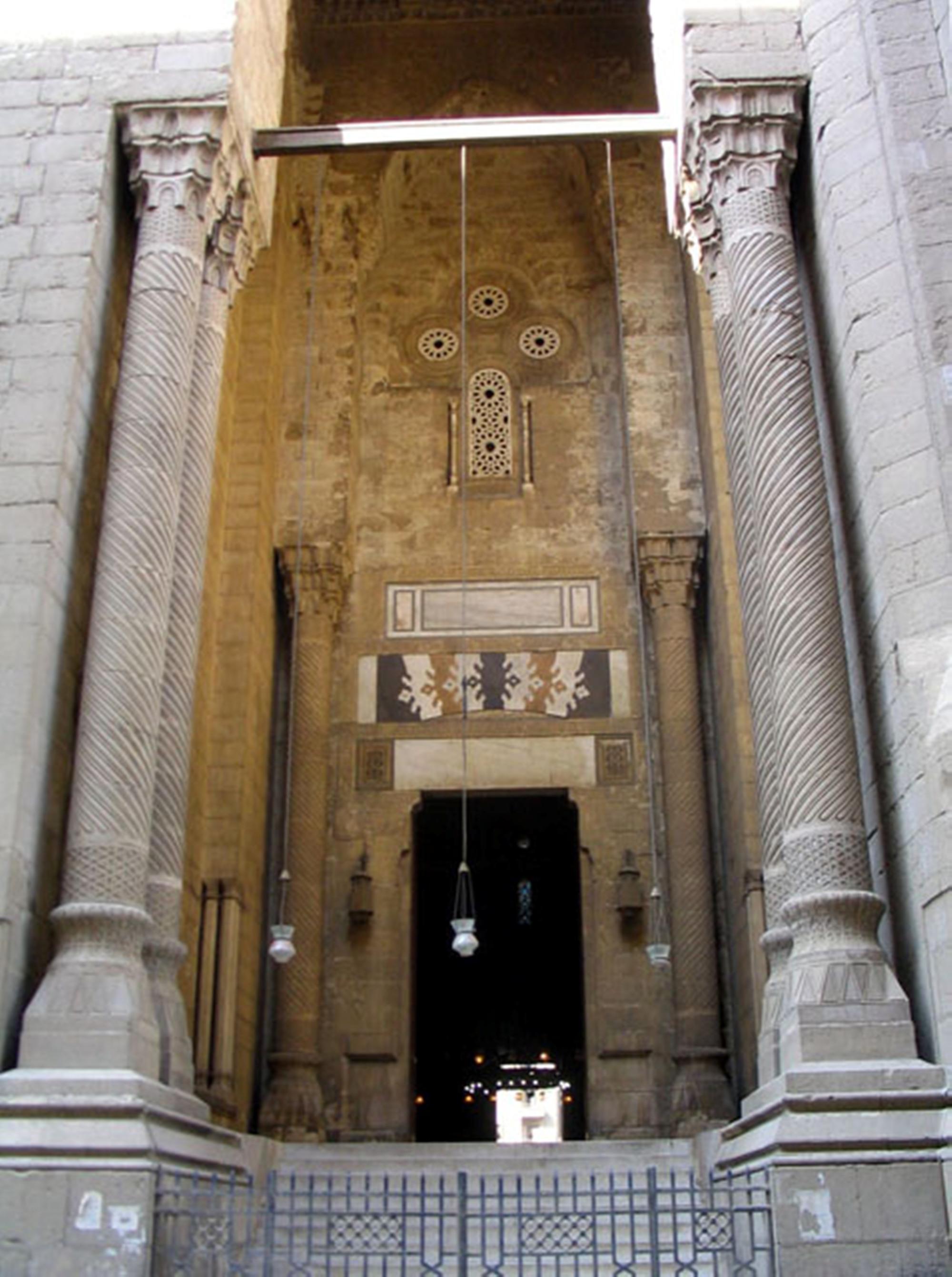 Entrance Rifai mosque