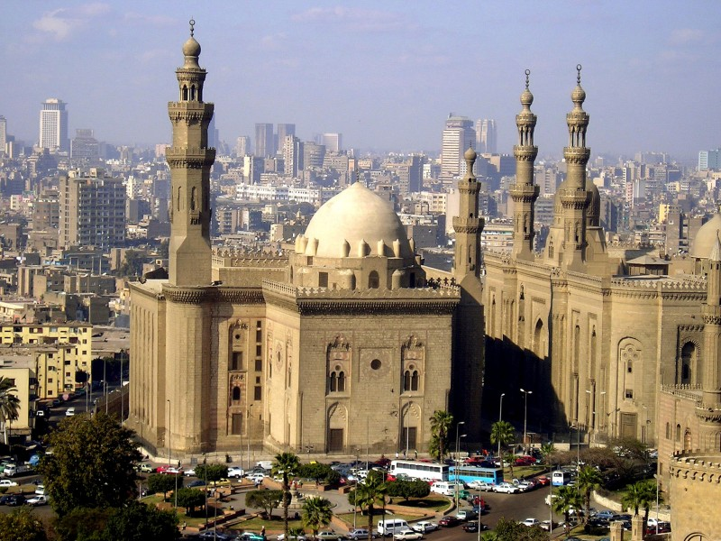 Mosque and Madrassa of Sultan Hassan Cairo