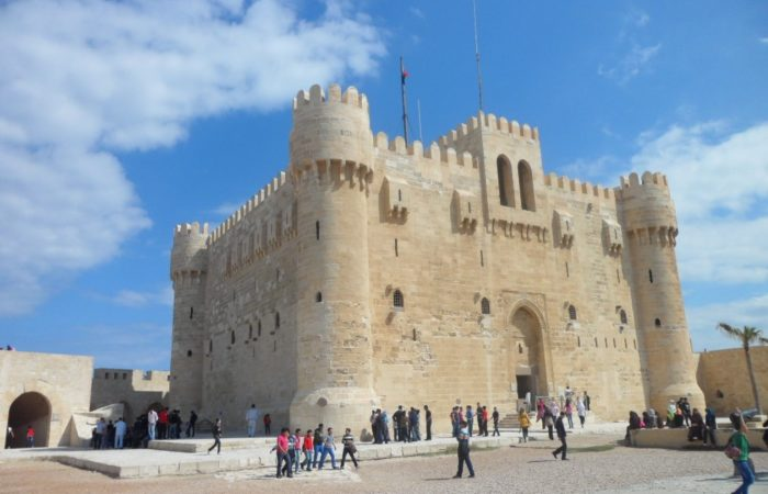 alexandria, Quitbay citadel, day trip to alexandria from cairo