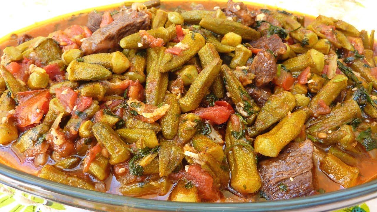 Bamia, Okra, Egyptian food