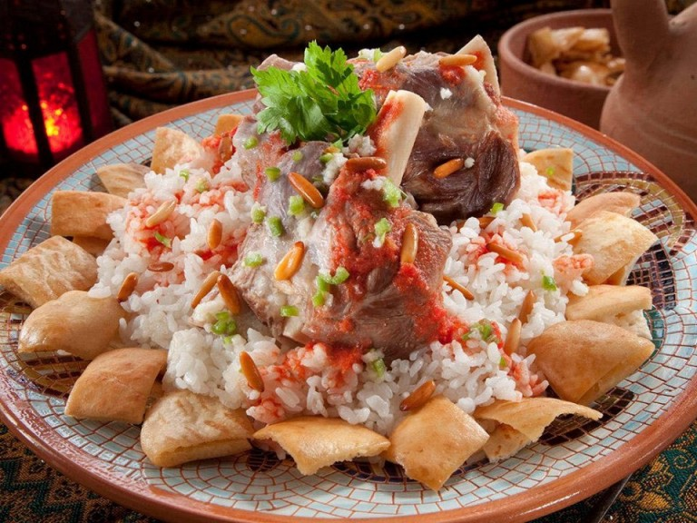 Fattah. Food in Egypt