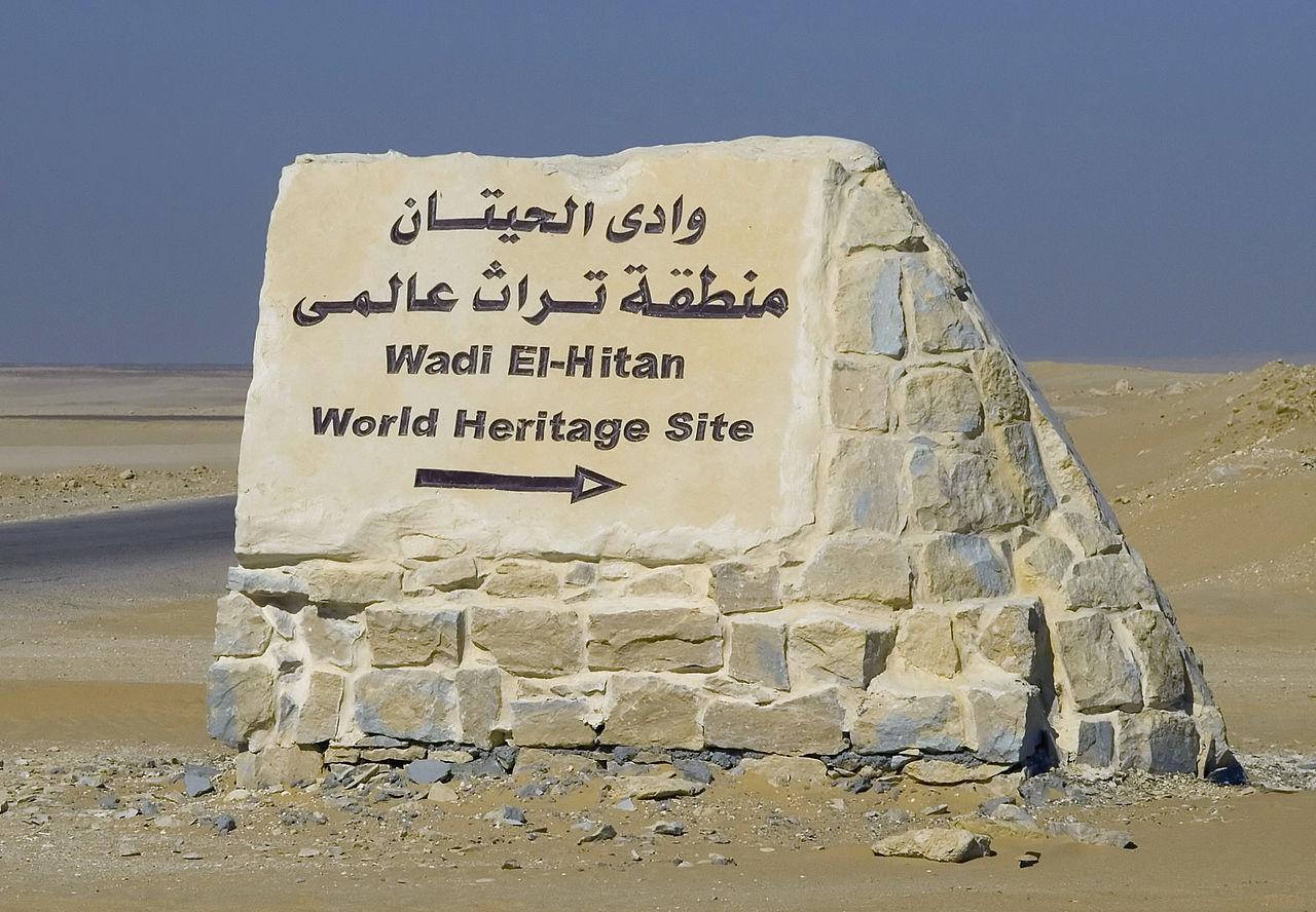 Whales valley Fayoum, Wadi Hitan, Unesco World Heritage site
