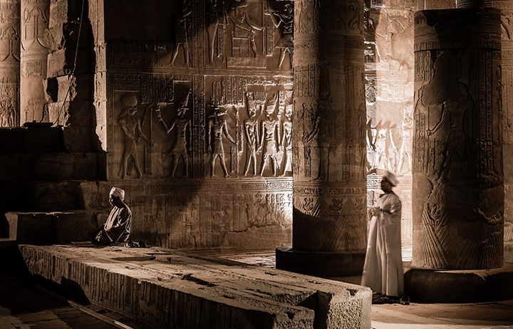 Aswan Edfu temple