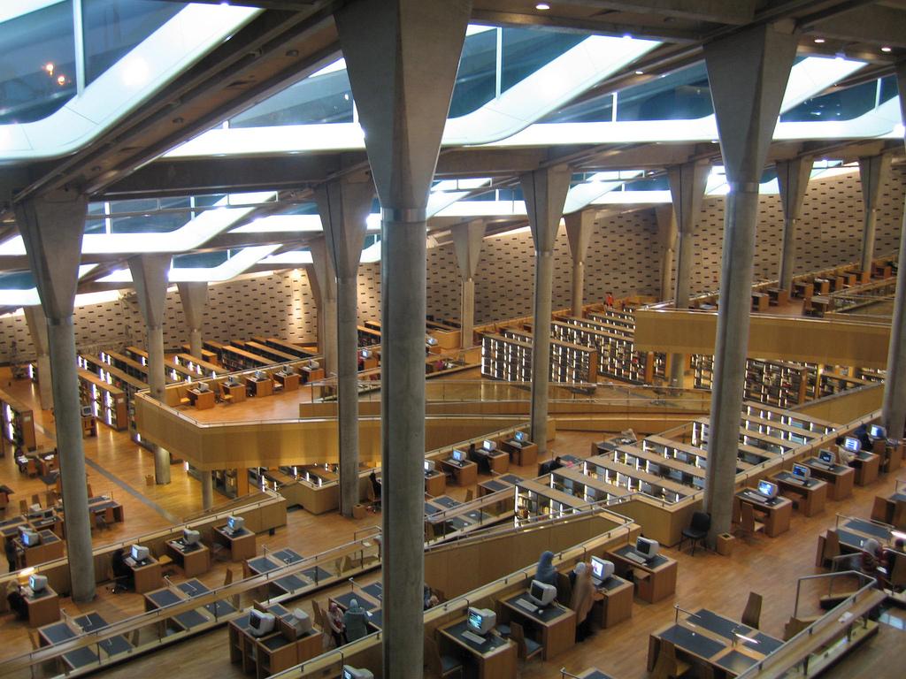 alexandria library, Deluxe Tours Egypt