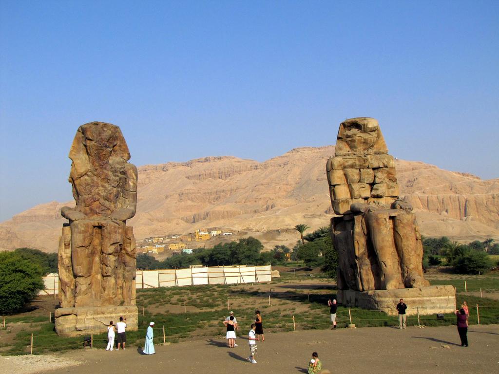 Memnon, Colossi of Memnon, Luxor, Luxor West bank