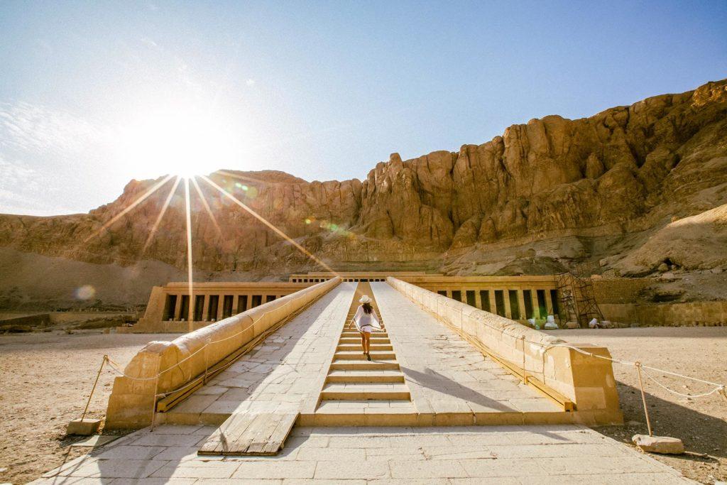 Temple of Queen Hatshepsut, Luxor West Bank, Hatshepsut Temple