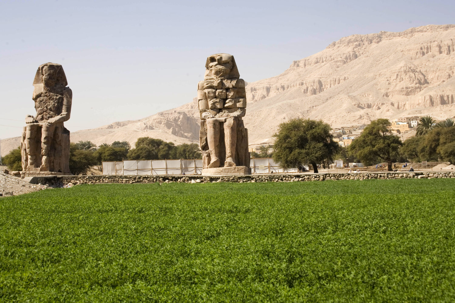 Memnon, Colossi of Memnon, Luxor, Luxor west bank