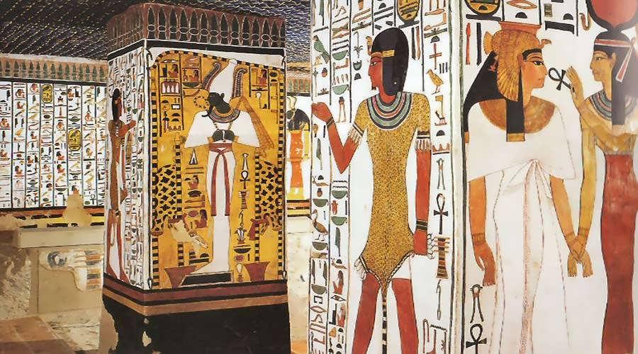 Valley of Queens, Nefertari Tomb, Luxor West Bank