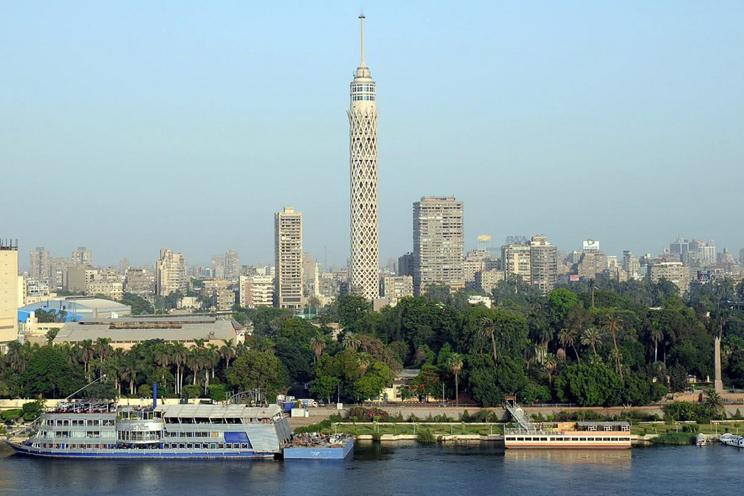 Cairo, cairo tower