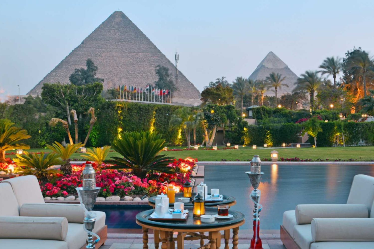 luxury hotels in Egypt, Marriott Mena house