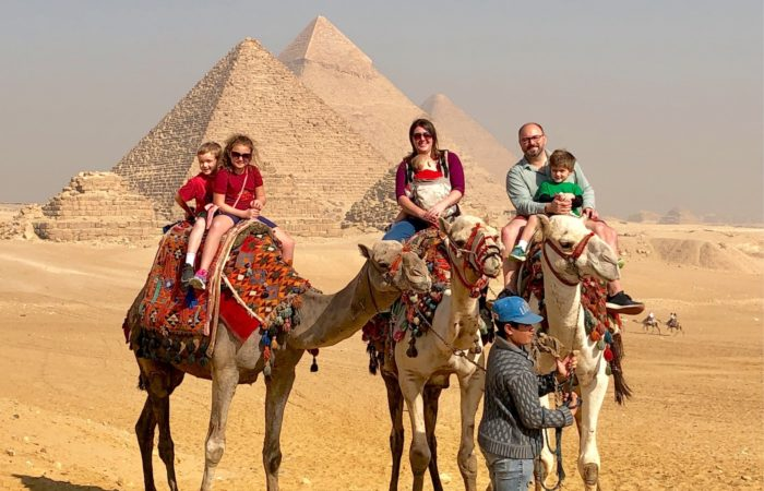 Pyramids of Giza half day, family travel egypt, camel ride pyramids tour