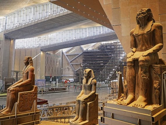 Grand Egyptian museum Giza