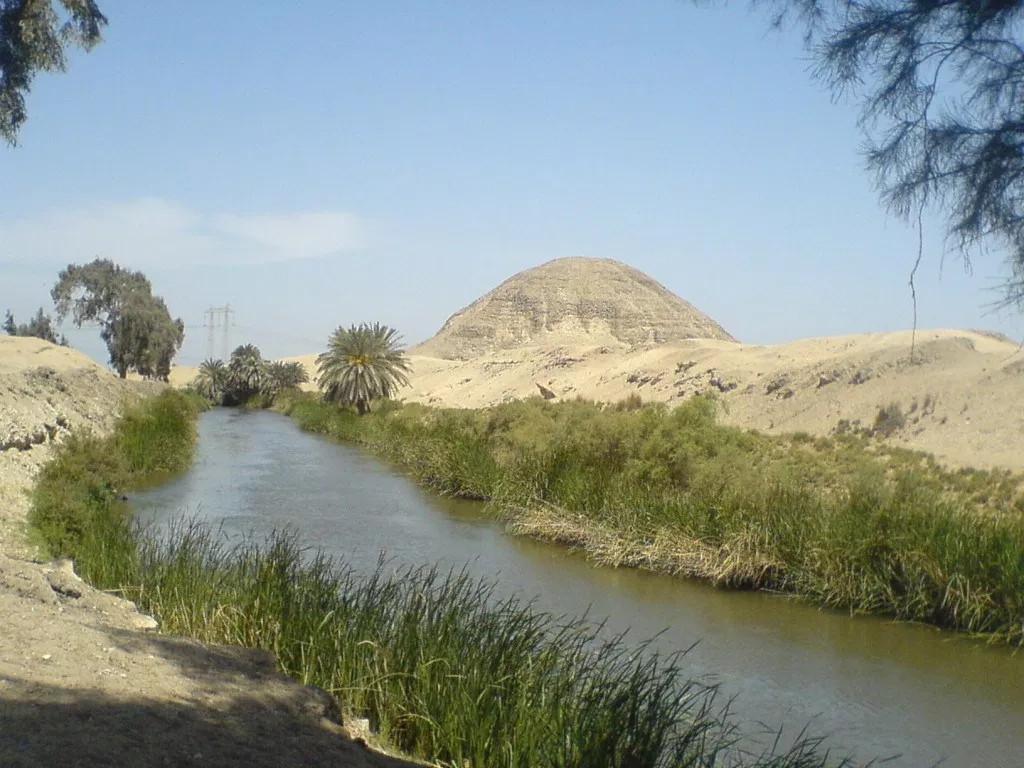 Pyramid of Hawara fayoum, Hawara pyramid, Amenemhat