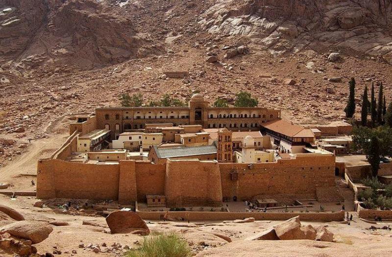 sharm el sheikh, st Catherine monastery