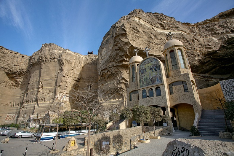 Cave Church, St Simon, Coptic Cairo
