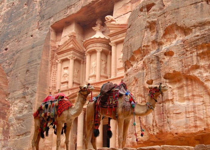 egypt and jordan tour, pyramids to petra