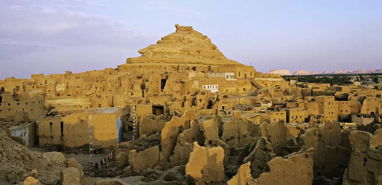 mountain of dead siwa, siwa oasis, siwa egypt